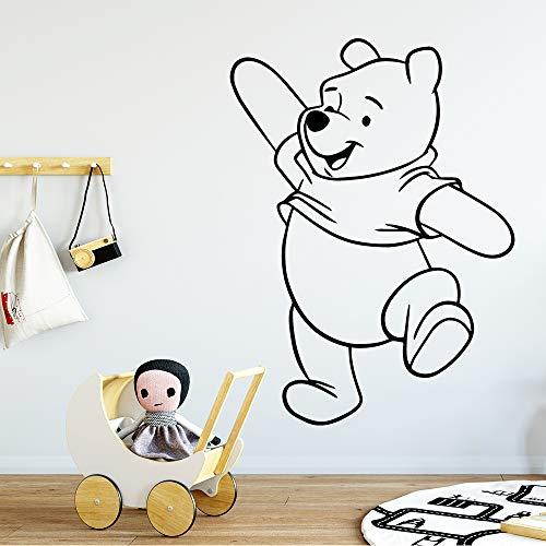 hetingyue beer muurschilderijen beer hoofddecoratie beer muurtattoos