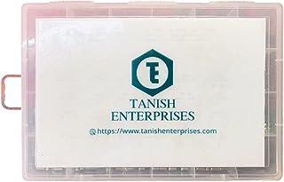 Tanish Stainless Steel 304 Allen Grub Screw (DIN 916) (M3/4/5/6/8/Allen Key)- 695 Pcs Comes as a Combo Set.