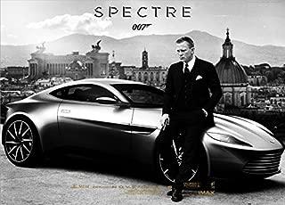 Twenty-three 24X36 Inch canvas Poster New Arrival Hot Sale James Bond 007 Spectre Movie