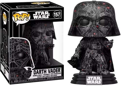 Star Wars Edición Especial Darth Vader Pop Futura Serie de Arte Abstracto en Pila Dura