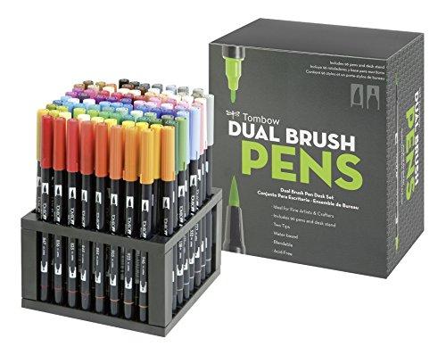 Tombow ABT Dual Brush Pen Set (Pack of 96)