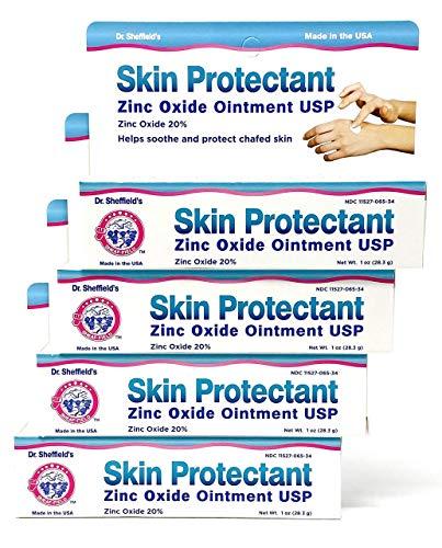 Dr. Sheffield's Skin Protectant Zinc Oxide Ointment 1 Oz (4 Pack)