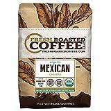 Fresh Roasted Coffee LLC, Organic Mexican Chiapas Coffee, Whole Bean, 5 Pound Bag