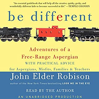 Be Different audiobook cover art