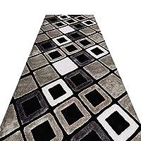 廊下敷きカーペット 幾何学的な敷物パッド滑り止め、 カーペットマシンウォッシャブル屋内フロアランナーラグ ポーチキッチンバスルームベッドルーム用、 お手入れが簡単 (Size : 1×1m(39.4×39.37 in))