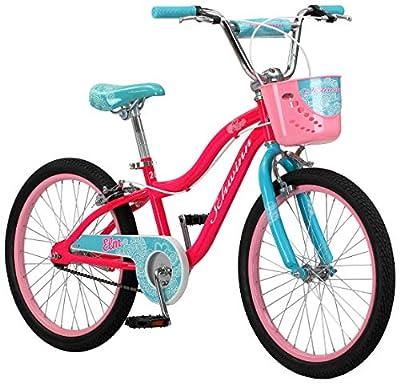 Schwinn Elm Girls Bike for Toddlers and Kids, 20-Inch Wheels, Pink