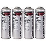 GoSystem 2277 Butane Propane 70:30 Mix Gas Cartridge 277g 482ml - 4 Pack