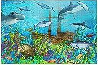 300ピース ジグソーパズル 173169海の生き物 ジグソーパズル ミニピース 300/500/1000/1500