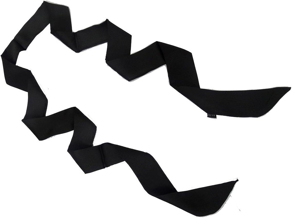 L'vow Price reduction Women's Limited price Stylish Soft Black Tie Thin BoyFriend Skinny Scarf