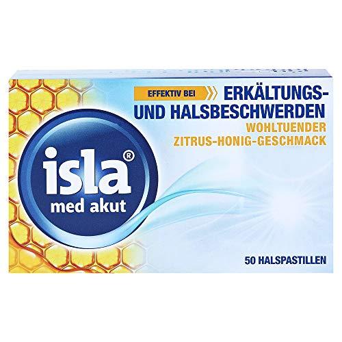Isla med akut Zitrus-Honig Pastillen, 50 St
