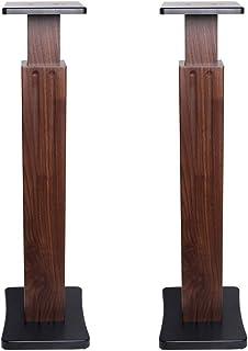 Muebles Speaker Stand Ordenador Tarjeta De Altavoces De Sonido Envolvente HiFi Altavoz del Soporte Soporte De La Familia A...