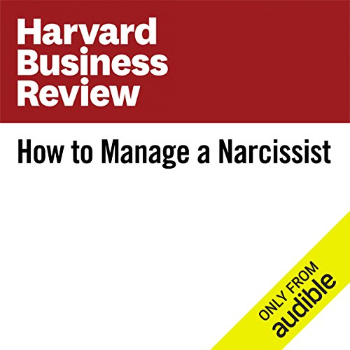 How to Manage a Narcissist audiobook cover art