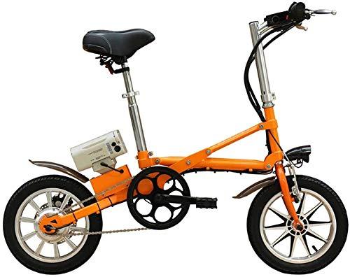 Bicicletas Eléctricas, Bicicleta eléctrica plegable bicicleta eléctrica de 36V for adultos con 8AH batería de litio de 250W de alta velocidad del motor eléctrico Trekking for frenos de disco Touring,