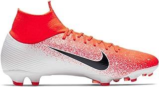 Nike Mercurial Superfly 6 Pro FG Soccer Cleats (8, Hyper Crimson/White/Black)