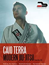 Caio Terra Modern Jiu Jitsu 4 DVD Set Closed Guard Defense and Attacks, Butterfly Guard, Side Control, Back Mount, Half Guard, Turtle, Passing Guard