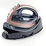 Panasonic NIWL607P Cordless 360 Freestyle Steam/Dry Iron, Rose Gold - Compact