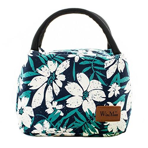 winmax Sac Repas Lunch Bag Isotherme Sac Lunch Box Femmes Enfant Petite Glaciere Repas Sac Pique Niques pour Bureau, Travail, l'école, Voyage, Camping Repas Préparés