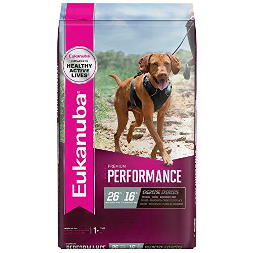 Eukanuba Premium Performance 26/16 Exercise Adult Dry Dog Food, 28 lb. Bag