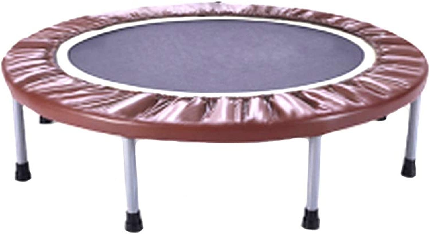 Trampolines 38 Inches Mini with Safety Pad, For Indoor Garden Workout Cardio Training - For Kids Adults - Max Load 200kg