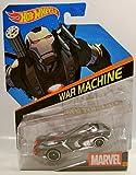 WAR MACHINE MARVEL COMICS CHARACTER CAR HOT WHEELS...