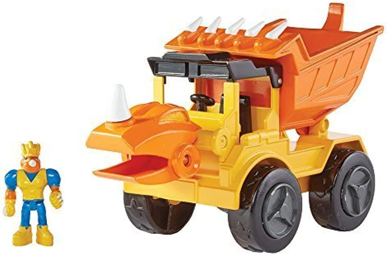 Educational Insights Dino Construction Company Play Sets  Rocko  Styracosaurus Dump Truck by Learning Resources
