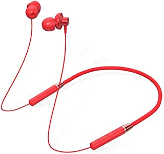 Lenovo HE05 Bluetooth Headphones Wireless BT5.0 Ergonomic Magnetic Sports Running Waterproof Earphones Noise Canceling (Red)