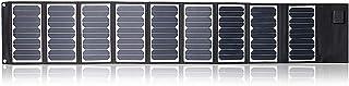 شاحن Sunkingdom بالطاقة الشمسية 60 وات محمول للوحة الشمسية مع 5 فولت يو إس بي 18 فولت تيار مستمر مزدوج الإخراج ماء التخييم...