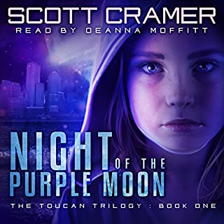 Night of the Purple Moon audiobook cover art