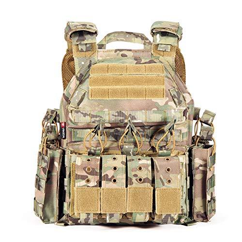 CAMO Tactical Outdoor Vest… (CP)