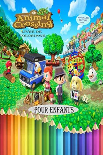Animal Crossing New Leaf Livre de Coloriage: Cahier de Coloriage Pour Enfants Animal Crossing New Horizons 2021
