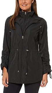 Womens Parka in a Pocket Rain Jacket
