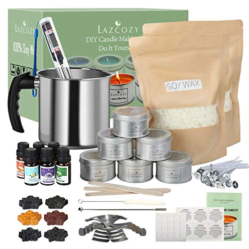 LAZCOZY Candle Making Kits Supplies