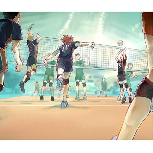 Haikyuu Anime Jigsaw Puzzles Football Match Dibujos Animados Puzzle 1500 Pieza (Size : 1500)
