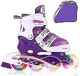 JIFAR Youth Children's Inline Skates for Kids, Adjustable...
