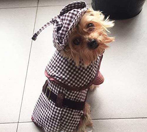 Ropa para Mascotas, Perros, Perros Pequeos Y Medianos, Ropa De Sherlock Holmes, Ropa Divertida De Otoo E Invierno L