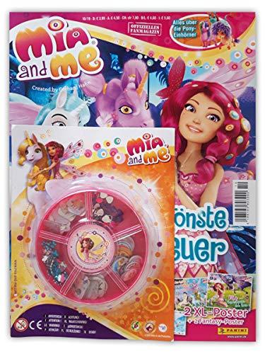 Mia and Me Magazin 10/2019 mit 2 XL-Postern Comics und Mia's Glitzer-Schmuck