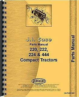 case 444 garden tractor