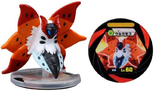 Takaratomy Limited Edition Monster Collection Black & White Pokemon Figure With Battle Disc - M-038 - Ulgamoth/Volcarona (japan import)