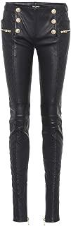 brandMe Women's Leather Pant Genuine Lambskin Skinny Slim fit Leather Pants MP003