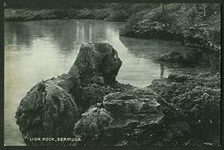 Lion Rock Bermuda postcard 1910s J H Bradley #2