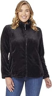 Womens Plus Size Luxe Faux Fur Jacket