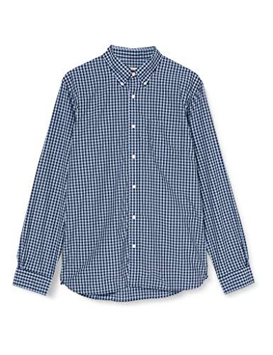 Brooks Brothers Herren 100079014 Hemd, Mehrfarbig, Large