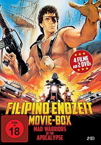 Filipino Endzeit Movie-Box: Mad Warriors of the Apocalypse (4 Filme auf 2 DVD)