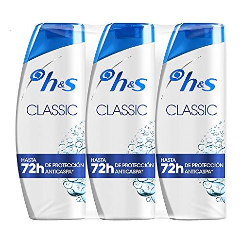 Head & Shoulders Classic 540ml – Pack de 3 champús anticaspa