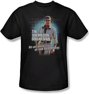 We Can Rebuild Him. - The Six Million Dollar Man Adult T-Shirt