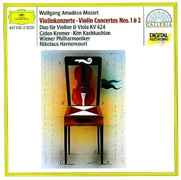 Mozart: Violin Concertos Nos.1 & 2; Duo for Violin and Viola KV 424