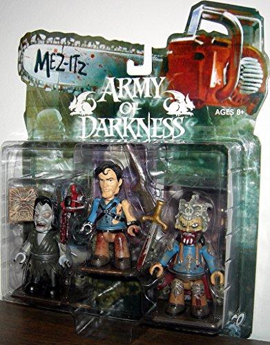 Evil Dead Army Of Darkness Horror-Film-Spielzeug-Actionfiguren-Set mit Esche