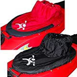 Paraspruzzi per Canoa Kayak (Rosso)