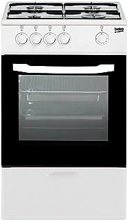 BEKO CSG-42009DW COCINAS DE Gas, Blanco, 85x50x50