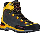 La Sportiva Trango Tech Leather GTX Mountaineering Boot - Men's Black/Yellow, 43.5